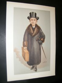 Vanity Fair Print 1903 Bishop of Kensington, Clergy